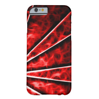 Red Vortex Fractal Barely There iPhone 6 Case