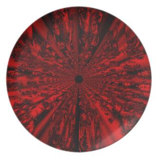 Red Vortex Plate
