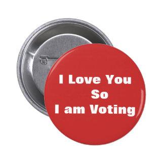 Red Vote Button