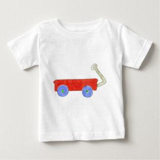 Red Wagon Baby T-Shirt