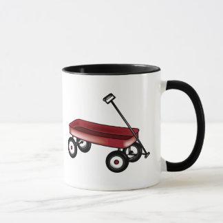 Red Wagon Mug