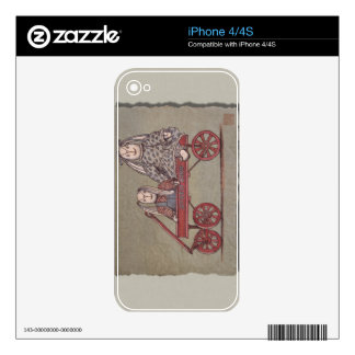 Red Wagon, Rabbit & Dolls Decals For The iPhone 4S