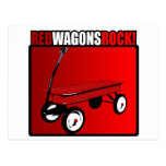 Red Wagons Rock! Post Cards