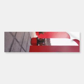 Red Wall Mexico Bumper Sticker