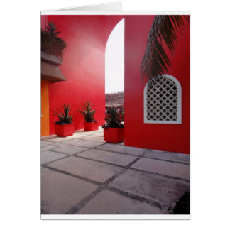 Red Wall Mexico Card