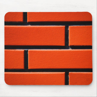 red wall mouse pad