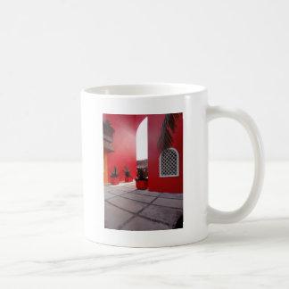 Red Wall Mug
