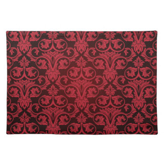 Red wallpaper 2 placemat