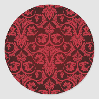 Red wallpaper 2 stickers