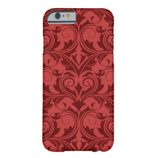 Red Wallpaper Barely There iPhone 6 Case