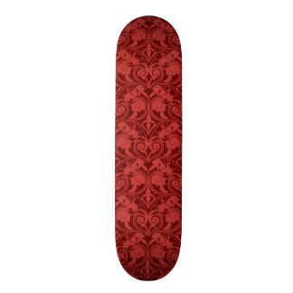 Red Wallpaper Skateboard Deck