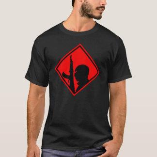 Red War on Terror Hazard Symbol T-Shirt