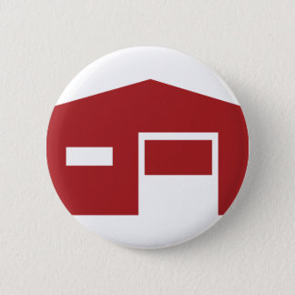 Red Warehouse Icon Button