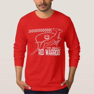 RED WARRIORS TEE SHIRT
