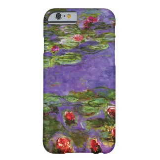 Red Water Lilies iPhone 6 Case