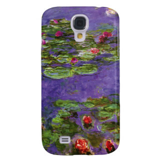 Red Waterlilies Impressionism  Galaxy S4 Covers