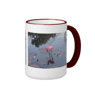 Red Waterlily Mug