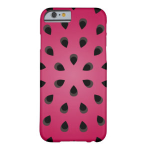 Red watermelon chunk with seeds barely there iPhone 6 case
