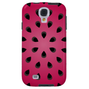 Red watermelon chunk with seeds galaxy s4 case