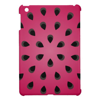 Red watermelon chunk with seeds iPad mini cover