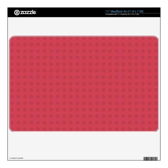 Red Watermelon Dot Mac Air Skin MacBook Decal