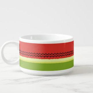 Red Watermelon Slice Chili Bowl