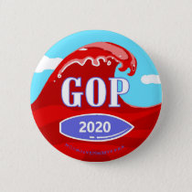 Red Wave 2020 Button