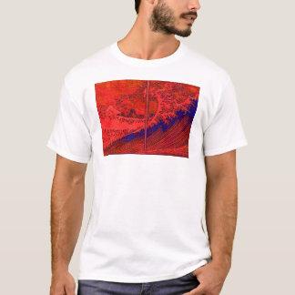 Red Wave & Samurai T-Shirt