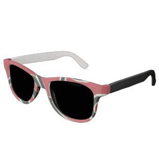 Red waves eyewear