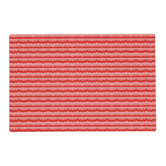 Red Waves Placemat