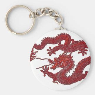Red Wax Dragon Keychain