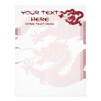 Red Wax Dragon Letterhead