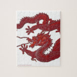 Red Wax Dragon Puzzle