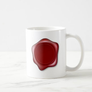 Red Wax Seal Mugs