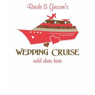 Wedding Cruise T-shirt