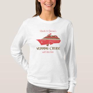Red Wedding Cruise T-shirt Customizable