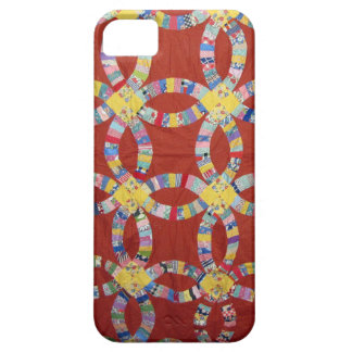 Red Wedding Ring Quilt iPhone SE/5/5s Case