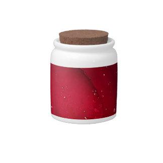 Red Wedding Rose Candy Dish