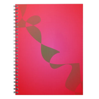 Red Weed Spiral Notebook