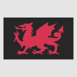 Red Welsh Dragon Sticker
