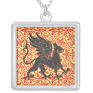 Red Welsh Griffin Necklace