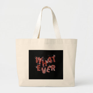 Red Whatever Large Tote Bag