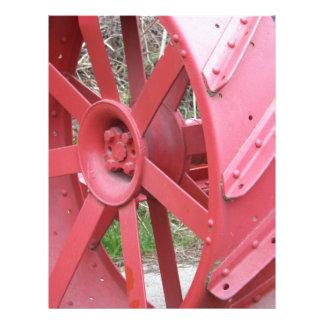 Red Wheel Letterhead