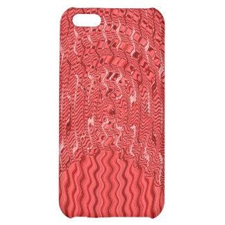 red white abstract pern iPhone 5C covers