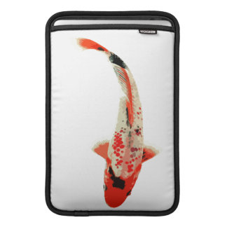 Red, White, and Black Koi Fish Sleeve For MacBook Air