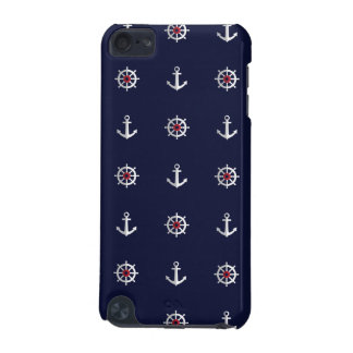 Red White And Blue Anchor Pattern iPod Touch (5th Generation) Case