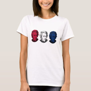 Red, White, and Blue -- Andrew Jackson T-Shirt