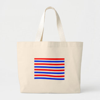 Red white and blue bags