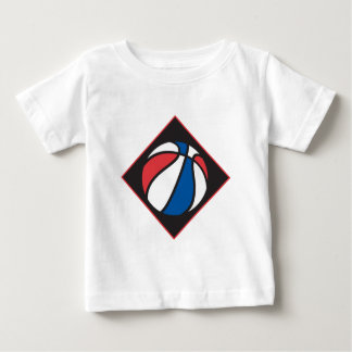 red white and blue basketball baby T-Shirt