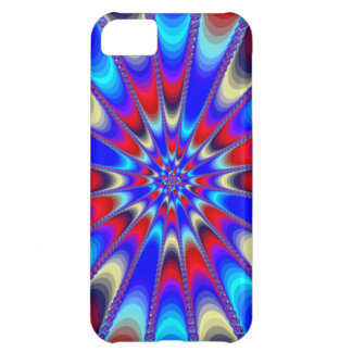 Red, White, and Blue Bedazzle Case For iPhone 5C